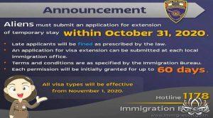 Amnistie des visas en Thaïlande, bientôt la date limite de prolongation