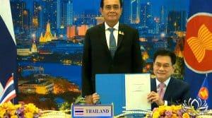 RCEP : Les nations de l'Asie-Pacifique signent le plus grand accord commercial du monde
