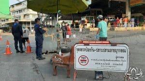 Samut Sakhon, 548 contaminations, nouvelle vague de covid