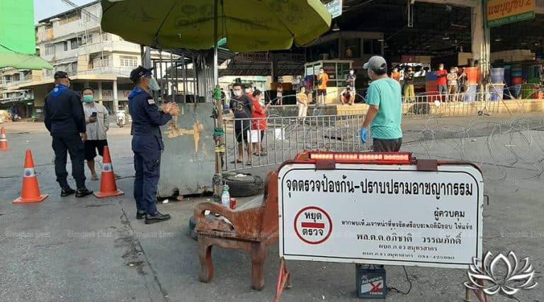 Read more about the article Samut Sakhon, 548 contaminations, nouvelle vague de covid