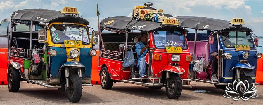 tuk tuk, tuktuk, se déplacer en tuk tuk à Bangkok, comment se déplacer à Bangkok