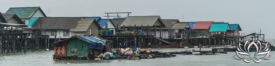vivre sur une ile en Thaïlande