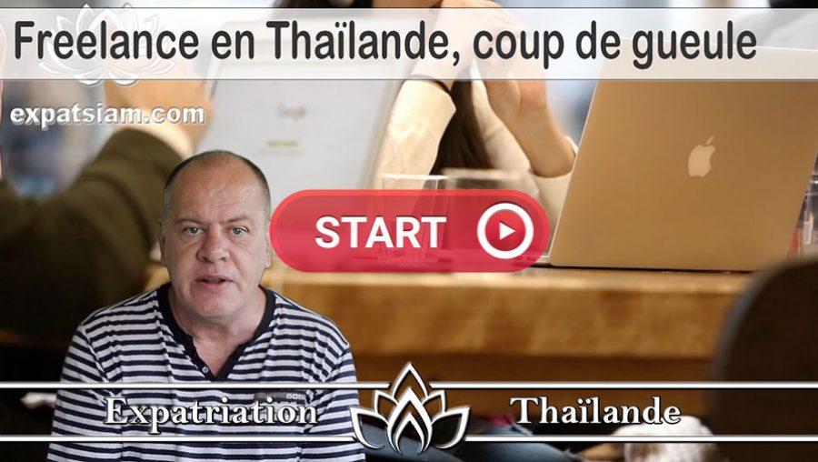 Freelance en Thaïlande, travailler comme freelance ou indépendant en Thaïlandee