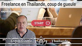 travailler comme freelance en Thaïlande, être indépendant en Thaïlande
