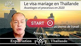 visa mariage en Thaïlande, comment se marier en Thaïlande, visa thai wife