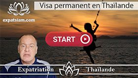 Visa permanent en Thaïlande, visa de dix ans Thaïlande, visa elite Thaïlande