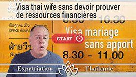 visa thai wife, visa mariage thailande